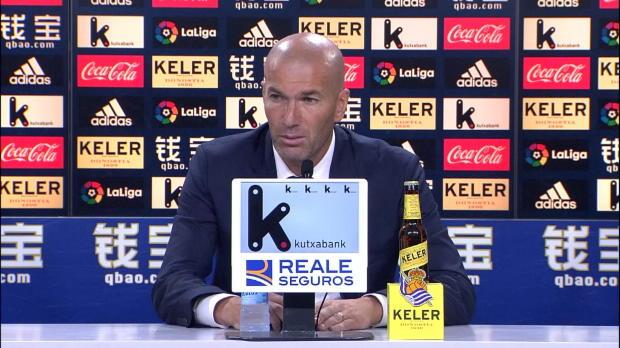 """Zidane: """"Alle Spieler sind mir wichtig"""""""