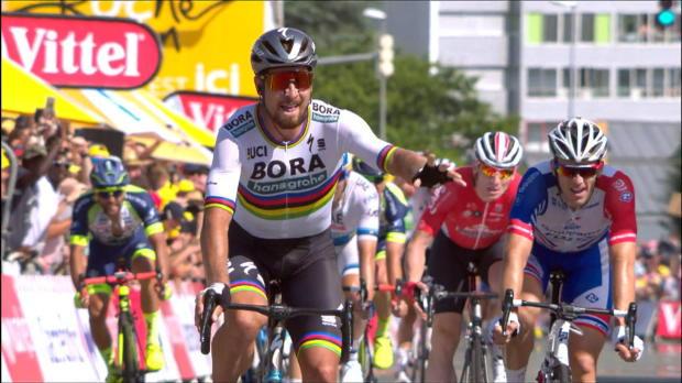 Tour de France: Sagans Triumph bei Chavanel-Show