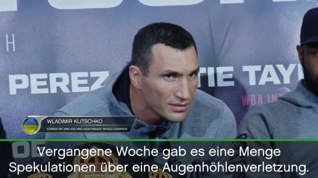 """Boxen: Klitschko über Gerüchte: """"Fake News!"""""""