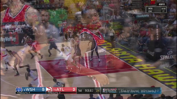 WSC: Highlights: Bradley Beal (31 points) vs. the Hawks, 4/28/2017