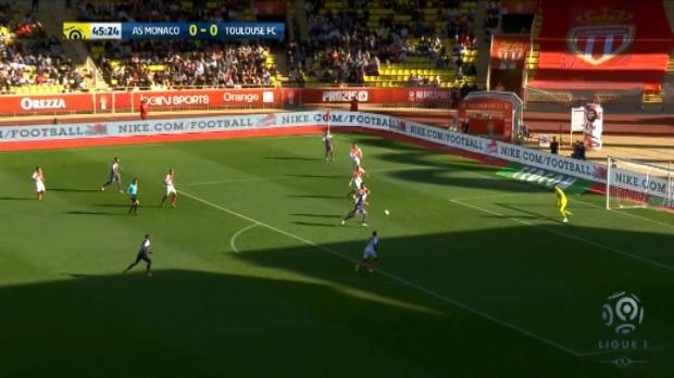 كرة قدم: الدوري الفرنسي: موناكو 3-1 تولوز