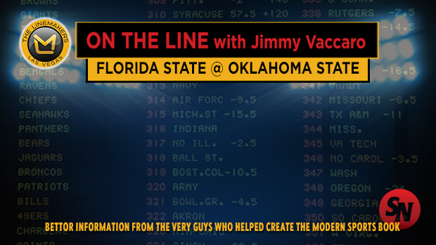 Jimmy V on Florida St @ Oklahoma State