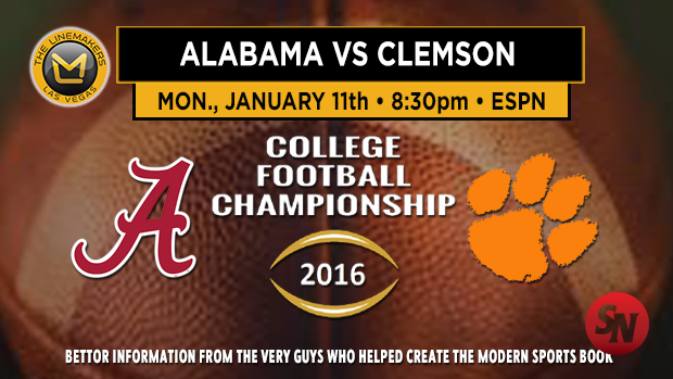 Alabama Vs. Clemson