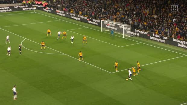 Premier League: Wolverhampton - Tottenham   DAZN Highlights