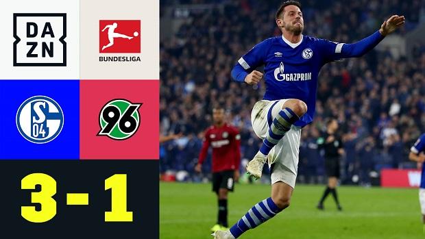Bundesliga: FC Schalke 04 - Hannover 96   DAZN Highlights