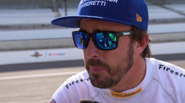 """500 millas de Indianápolis - F. Alonso: """"No se te hace larga la semana porque aprendo cosas nuevas"""""""