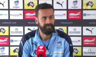 Sydney FC Captain Alex Brosque gives his thoughts on re-signing for the Sky Blues and also on preparing to face Liverpool FC tomorrow night.