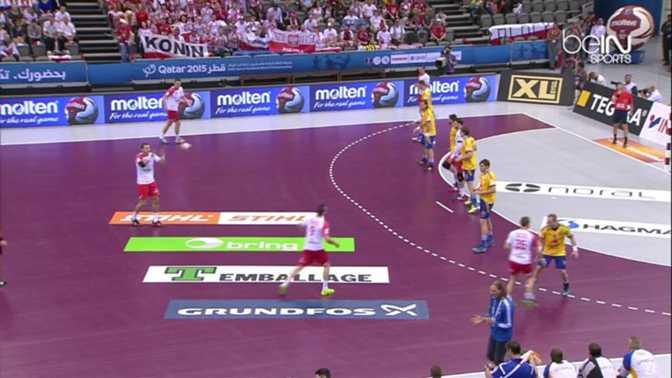 Pologne 24-20 Suède