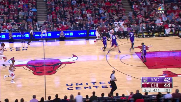 WSC: Highlights: DeMarcus Cousins (42 points) vs. the Bulls, 1/21/2017