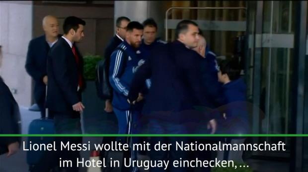 Argentinien: Messi macht jungen Fan glücklich