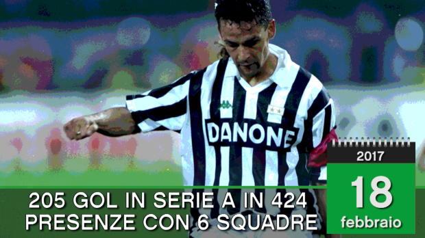 Born this day - Roberto Baggio compie 50 anni