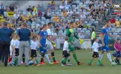 Central Coast Mariners secured their first F3 Derby win in nearly three years with a 2-0 triumph over Newcastle Jets.