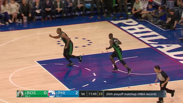 WSC: Joel Embiid (22 points) Highlights vs. Boston Celtics, 05/05/2018