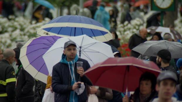 : Rome - La pluie perturbe la journée