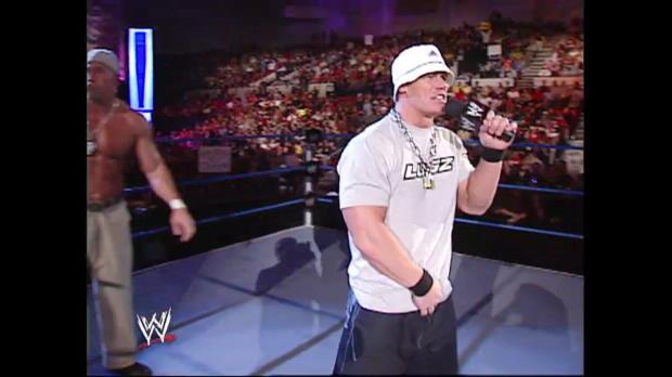 John Cena introduces his newest tag team partner: SmackDown, Dec. 26, 2002