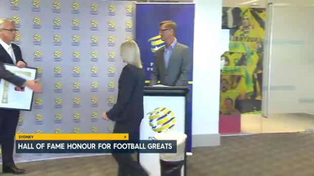 Hall of Fame honour for football greats