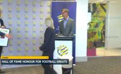 Matilda Sacha Wainwright, Socceroo Peter Raskopoulos and former International Referee Tammy Ogston have been inducted into the FFA Hall of Fame.