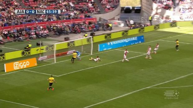 Ajax im Glück dank Stümper-Stürmer