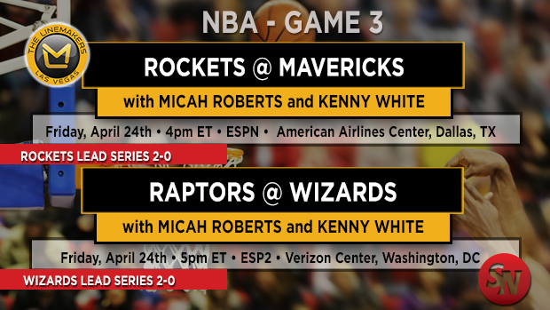 Friday NBA Playoff Games