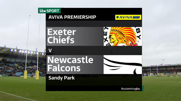 Aviva Premiership - Match Highlights - Exeter Chiefs v Newcastle Falcons