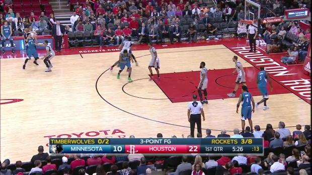 WSC: Karl-Anthony Towns 37 points vs the Rockets