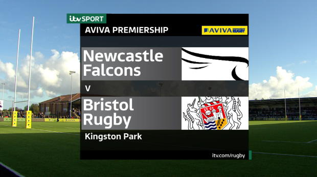 Aviva Premiership - Match Highlights:Newcastle Falcons v Bristol Rugby