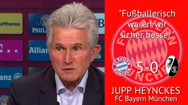 """Sprüche der Woche: Heynckes: """"Waren besser"""""""