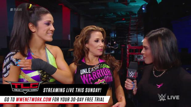 Mickie James will have the last laugh at WWE TLC: Raw, Oct. 16, 2017