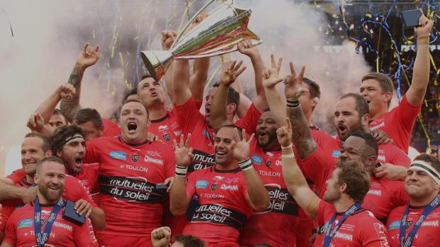 Champions Cup -Toulon entre dans la l�gende