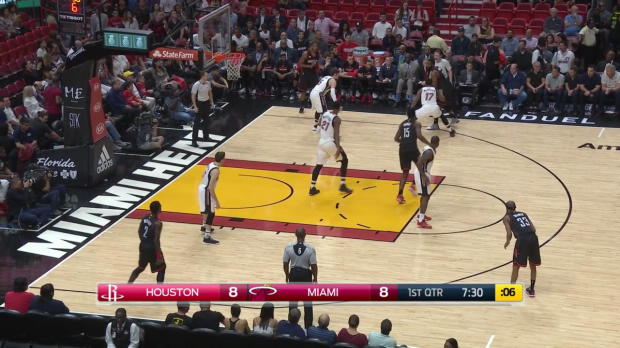 WSC: James Harden posts 40 points, 12 rebounds 10 assists vs the Heat