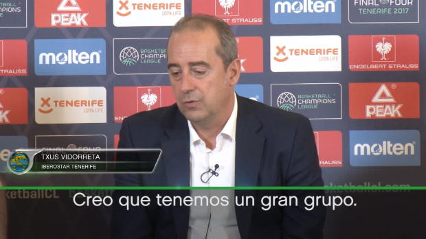 "Txus Vidorreta (Iberostar): ""Tenemos un gran equipo"""