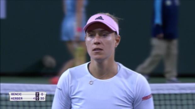 : Indian Wells - Kerber domine Bencic et se hisse en finale