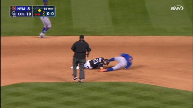 Cabrera shaken up on DP