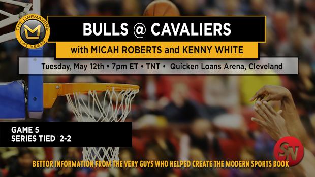 Bulls @ Cavaliers Game 5