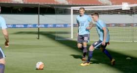 Caltex Socceroos defender Alex Wilkinson says competition for places is driving the squad to new heights.
