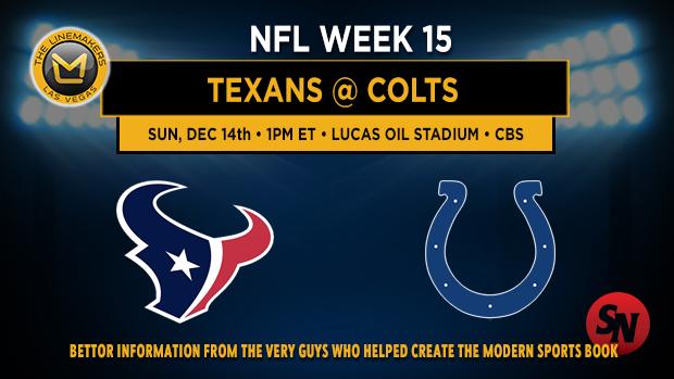 Houston Texans @ Indianapolis Colts