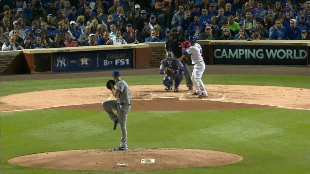 Baez on his two-homer game