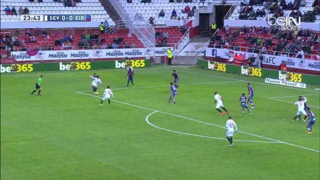 Liga : FC Séville 0-0 Eibar