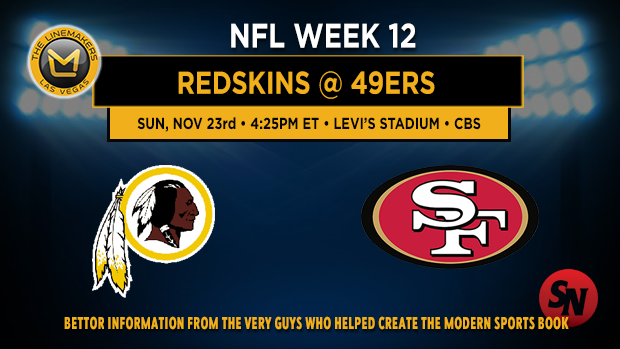 Washington Redskins @ San Francisco 49ers