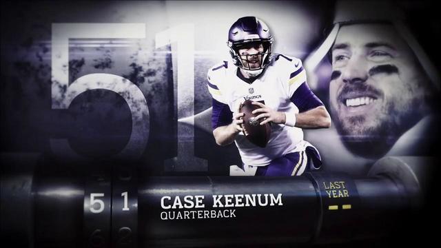 'Top 100 Players of 2018': Denver Broncos QB Case Keenum | No. 51