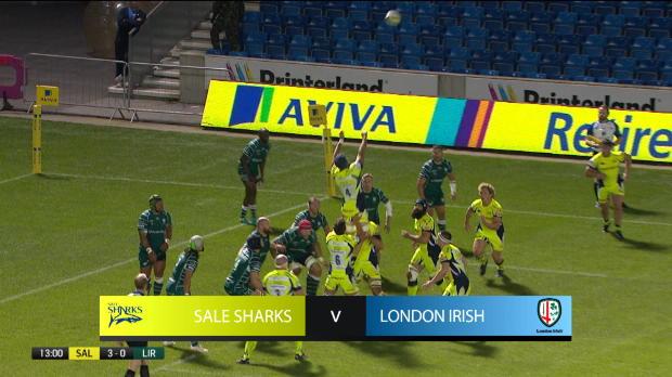 Aviva Premiership : Aviva Premiership - Highlights - Sale Sharks v London Irish