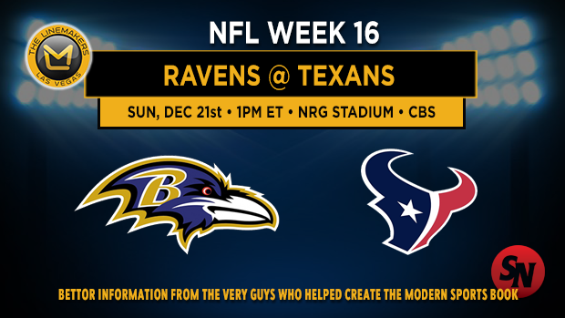 Baltimore Ravens @ Houston Texans