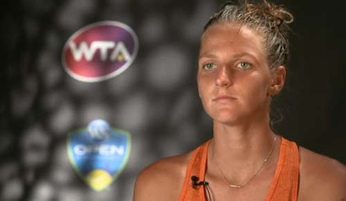 Pliskova Interview: WTA Cincinnati QF