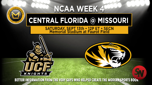 Central Florida Knights @ Missouri Tigers