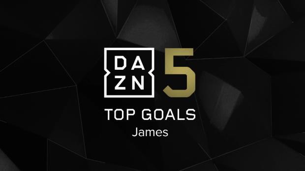 Top 5: James' schönste Tore der Saison 2017/18