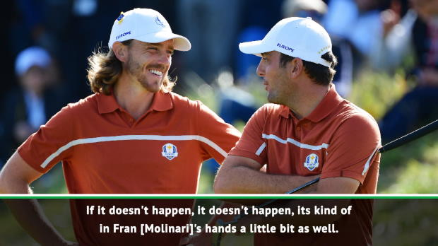 'There's people I'd rather beat' - Fleetwood on chasing Molinari in Race to Dubai