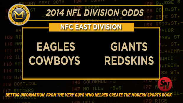 NFC East betting preview