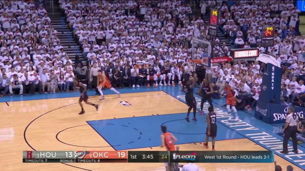 WSC: Highlights: Russell Westbrook (35 points) vs. the Rockets, 4/23/2017
