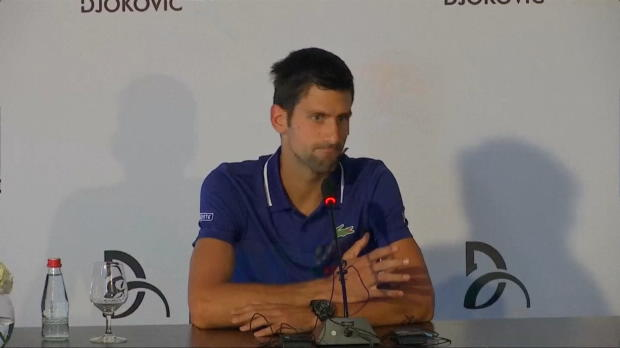 : ATP - Djokovic met fin à sa saison