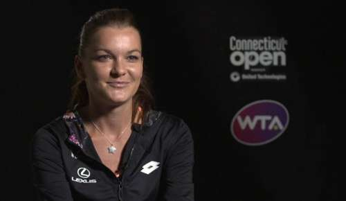 Radwanska Interview: WTA New Haven Final